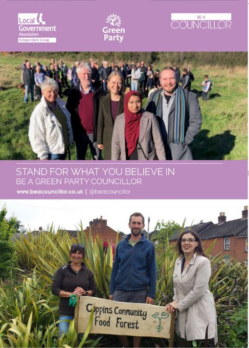 Be A councillor leaflet